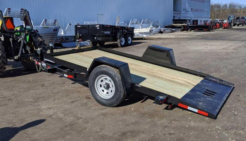 NEW 2020 CAM Superline 6x12 Single Axle Full Tilt Trailer  ***NEW A-FRAME TONGUE DESIGN***
