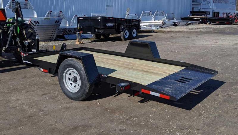 NEW 2020 CAM Superline 6x12 Single Axle Full Tilt Trailer  ***NEW A-FRAME TONGUE DESIGN***