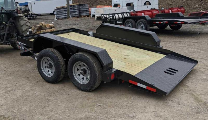 NEW 2020 CAM SUPERLINE 6x12 Tandem Lo Pro Full Tilt Trailer