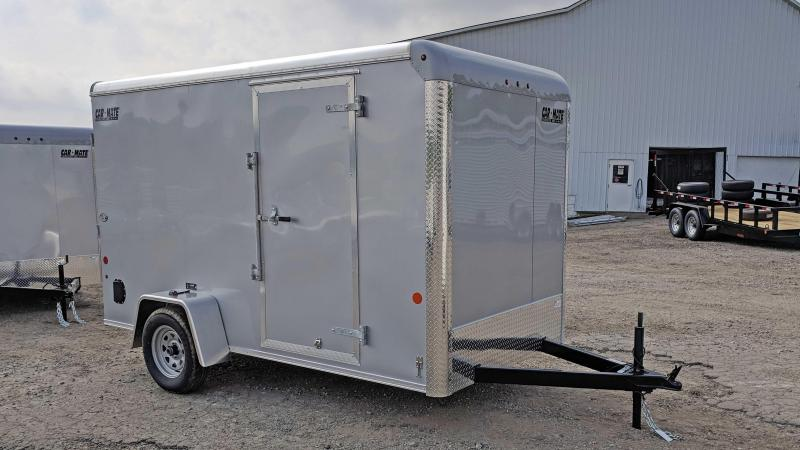 "NEW 2020 Car Mate 6x12 Custom Cargo Trailer w/ Barn Doors (6"" Add'l Height)"