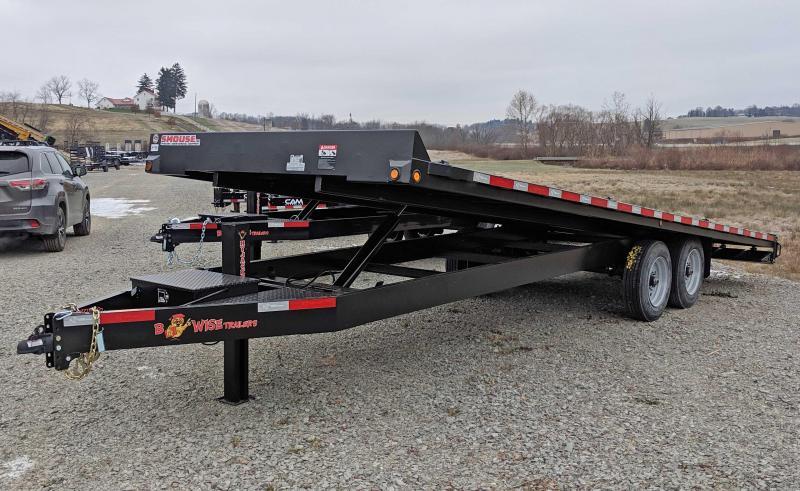 NEW 2019 Bri-Mar 24' HD Deckover Power Full Tilt (8k axles)