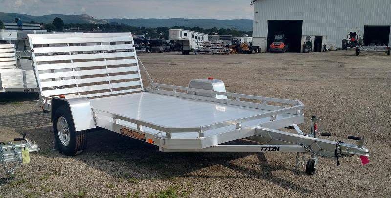 "NEW 2021 Aluma 6'5"" x 12 HD Utility Trailer"