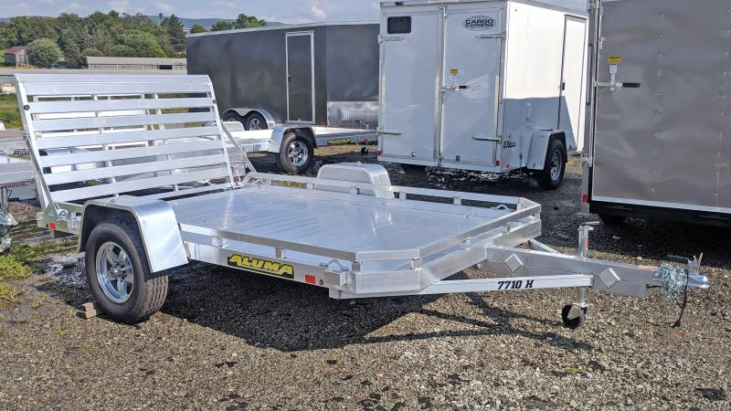 "NEW 2021 Aluma 6'6"" x 10 HD Utility Trailer"
