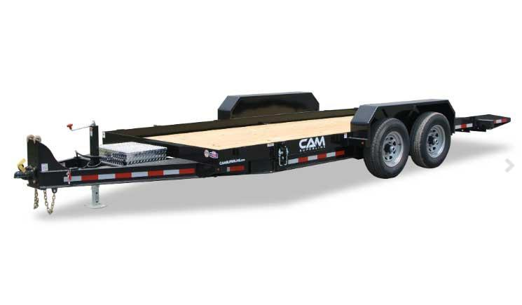 NEW 2020 CAM SUPERLINE 18' Lo Pro Full Tilt Trailer (7k Axles)