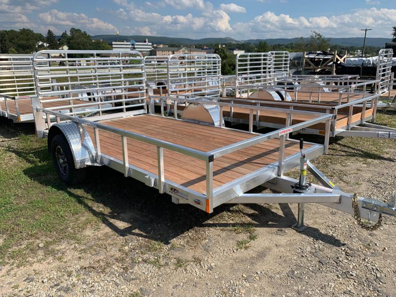 NEW 2020 Legend 7x12 Open Deluxe Aluminum Utility Trailer