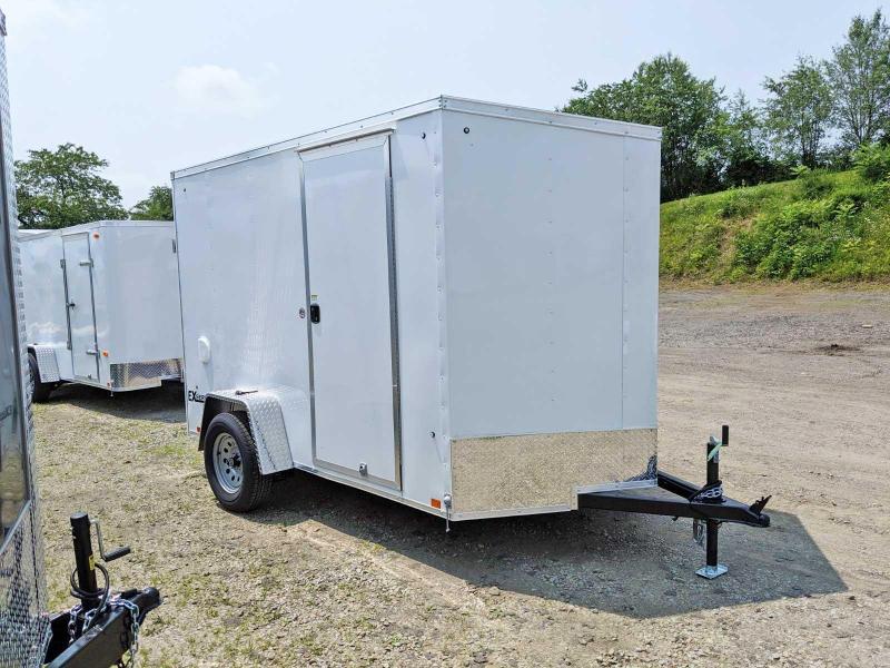 NEW 2020 Cargo Express 6x10 EX DLX V-Nose Cargo Trailer w/ Barn Doors