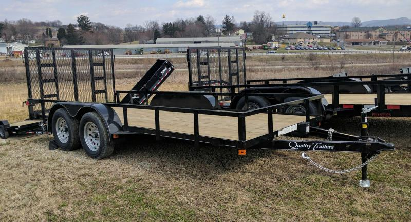 NEW 2020 Quality 6x16 Econo Utility Trailer w/ No Dove