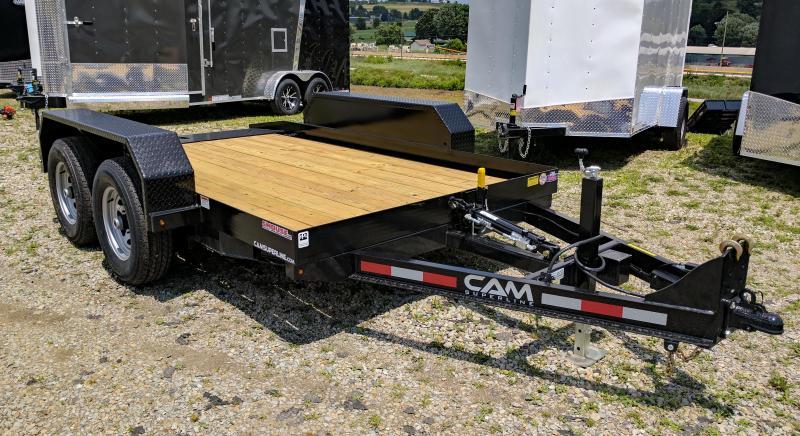 NEW 2019 CAM 6x12 Tandem Axle Tilt Trailer