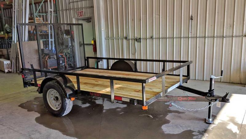 NEW 2020 Quality 5x10 PRO Utility Trailer w/ Spring Assist / Lay Flat Gate