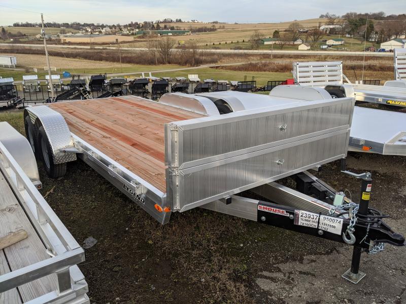 NEW 2020 Legend 16' Aluminum Car Hauler - NO DOVE TAIL