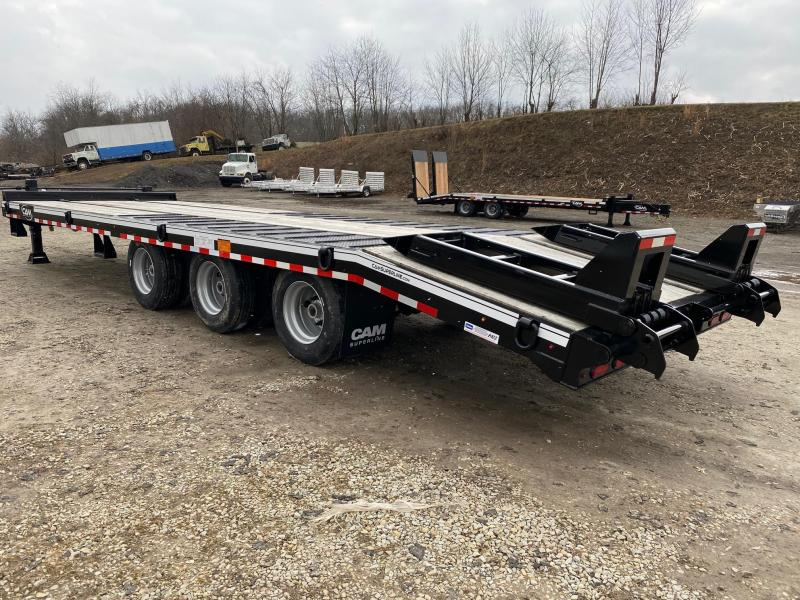 NEW 2020 CAM SUPERLINE 24+5 HD TRI-AXLE Deckover 25 TON Equipment Trailer w/ Air Brakes
