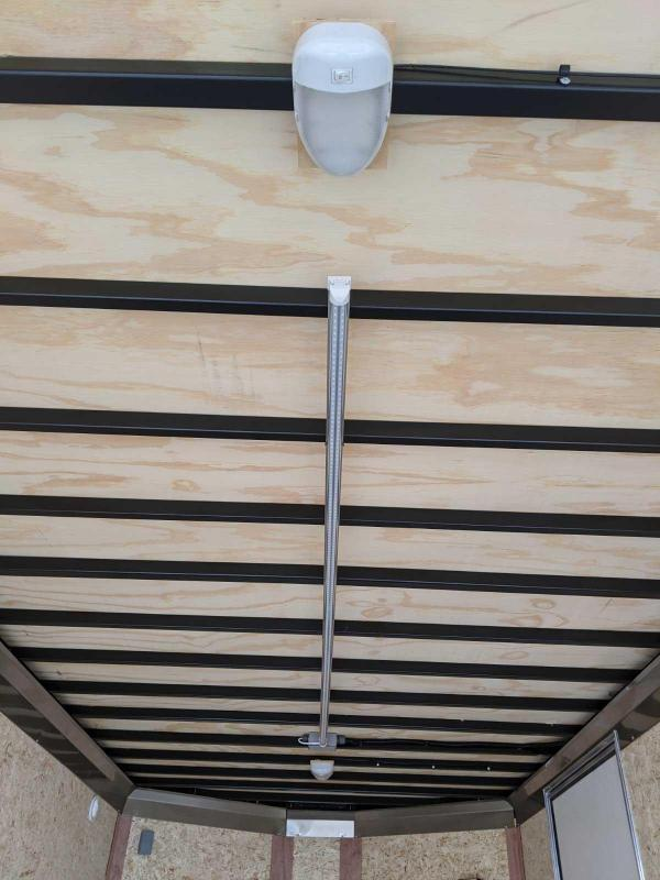 NEW 2020 Steadfast 7x14 Diamond Series V-Nose Contractor Cargo Trailer w/ Rear Barn Doors