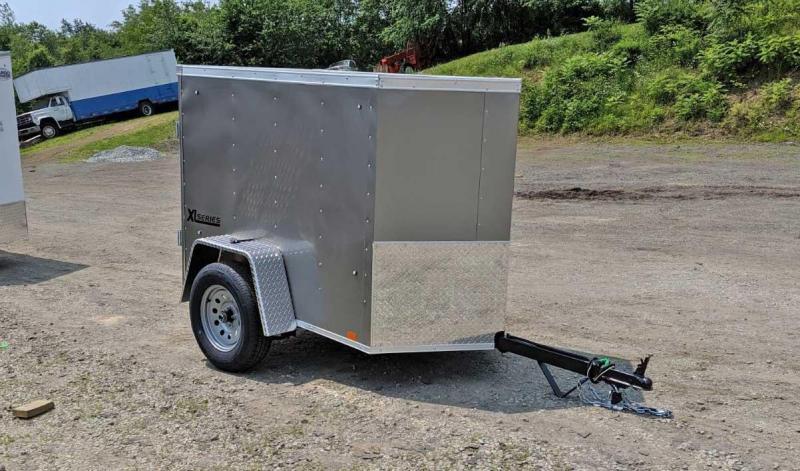 NEW 2020 Cargo Express 4x6 XLW V-Nose Cargo Trailer w/ Barn Door