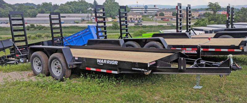 NEW 2020 CAM 16' Warrior Equipment Hauler w/Angle Ramps