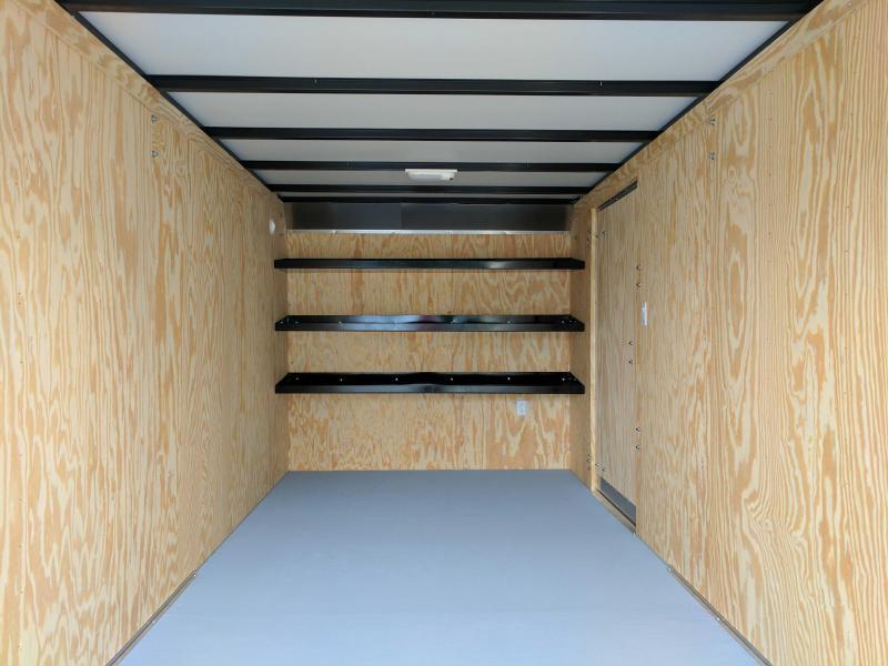 NEW 2020 Car Mate 7x16 HD Contractor Trailer w/ Barn Doors