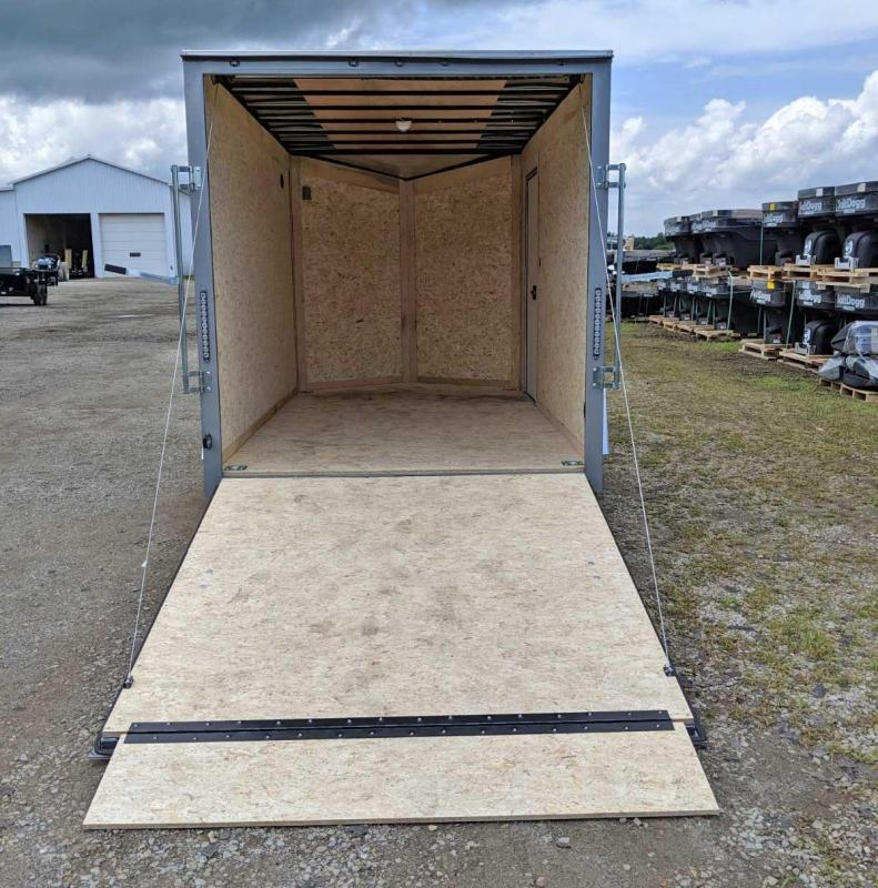 NEW 2020 Steadfast 7x12 V-Nose Cargo Trailer w/ Ramps