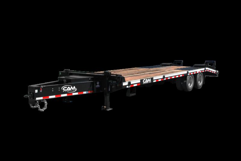 NEW 2019 CAM 20+5 HD Deckover Tagalong w/ Air Brakes
