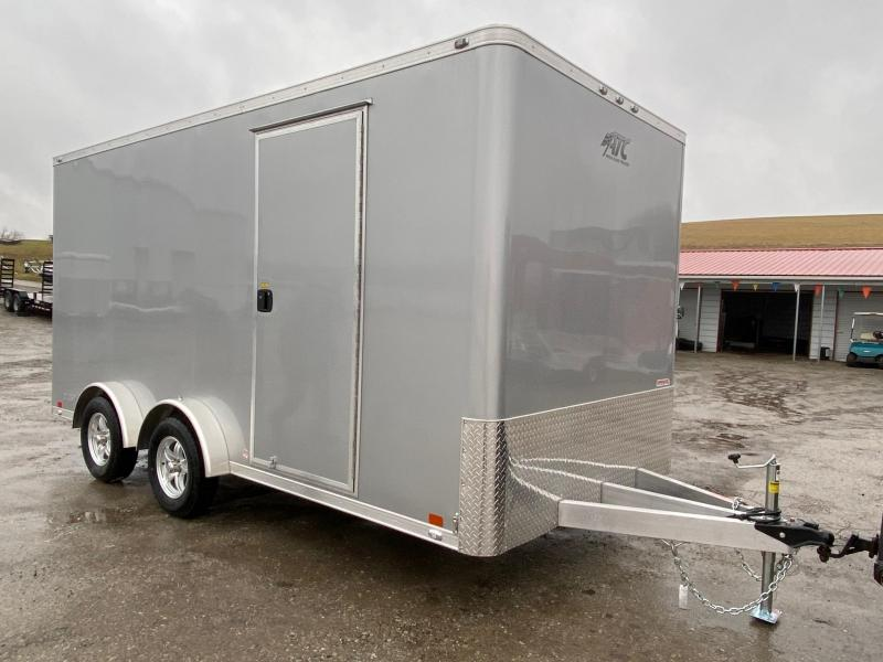 "NEW 2020 ATC 7.5 x 16 Quest Aluminum Cargo Trailer w/ Ramp Door (12"" Add'l Hgt)"