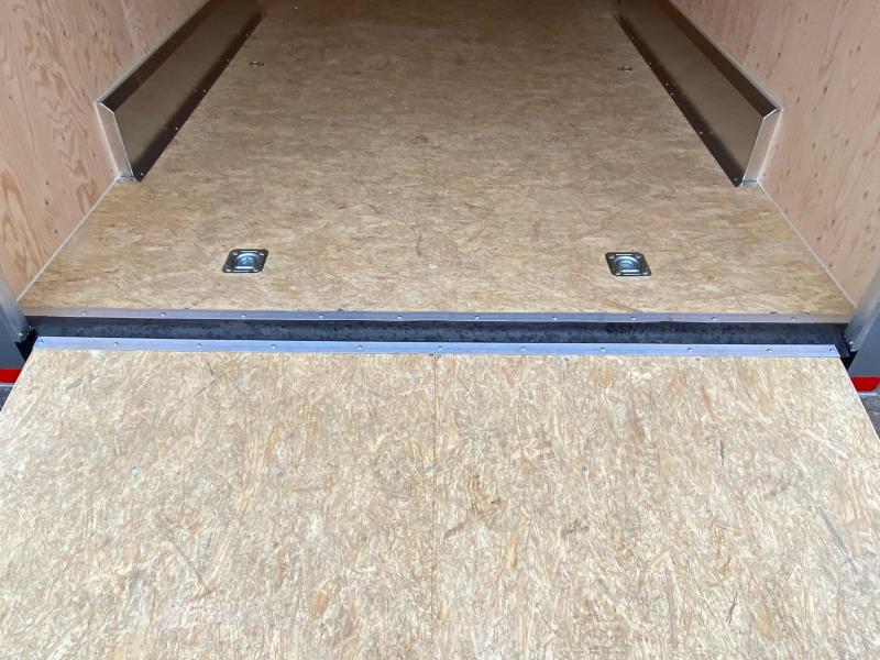 "NEW 2020 ATC 7.5 x 16 Quest Aluminum Cargo Trailer w/ Ramp Door (12"" Add'l Hgt)"