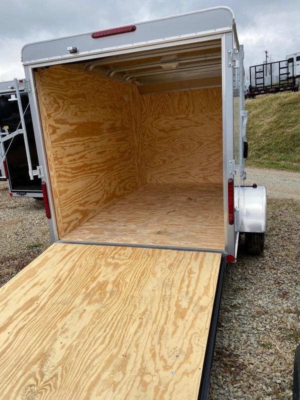 NEW 2020 Car Mate 6x10 Sportster Cargo Trailer w/ Rear Ramp Door