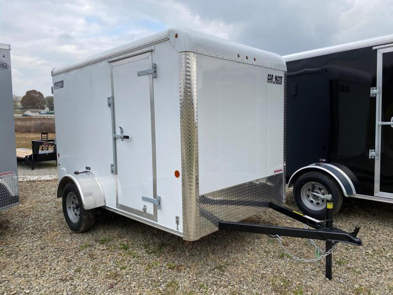 NEW 2020 Car Mate 6x10 Sportster Cargo Trailer w/ Rear Ramp Door
