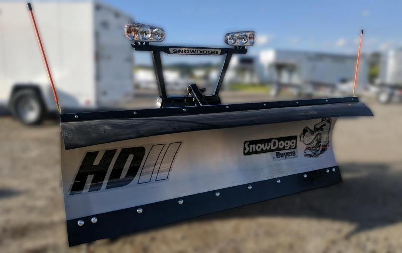 NEW SNOWDOGG 8' HD Gen 2 Stainless Steel Snow Plow w/ LED Lights
