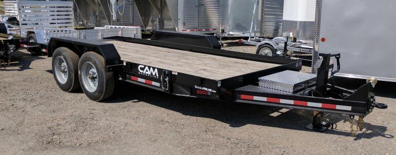 NEW 2019 CAM 20' HD Lo Pro Tilt Equipment Trailer (18400# GVW)
