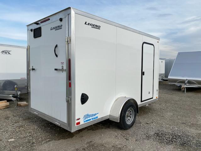 NEW 2020 Legend 6x12 Thunder V-Nose Cargo Trailer w/ Ramp