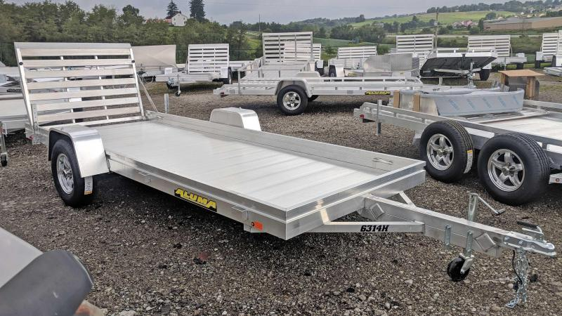 "NEW 2020 Aluma 5'3"" x 14 HD Utility Trailer"