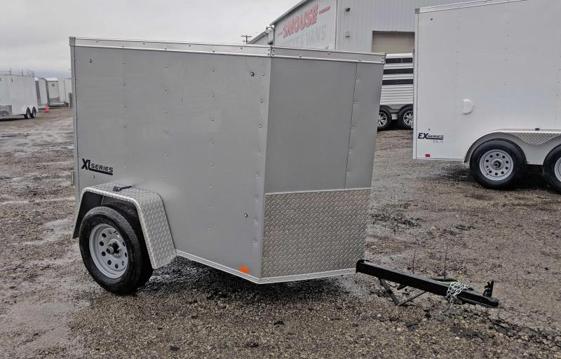 NEW 2020 Cargo Express 4x6 XLW V-Nose Cargo Trailer w/ Barn Door