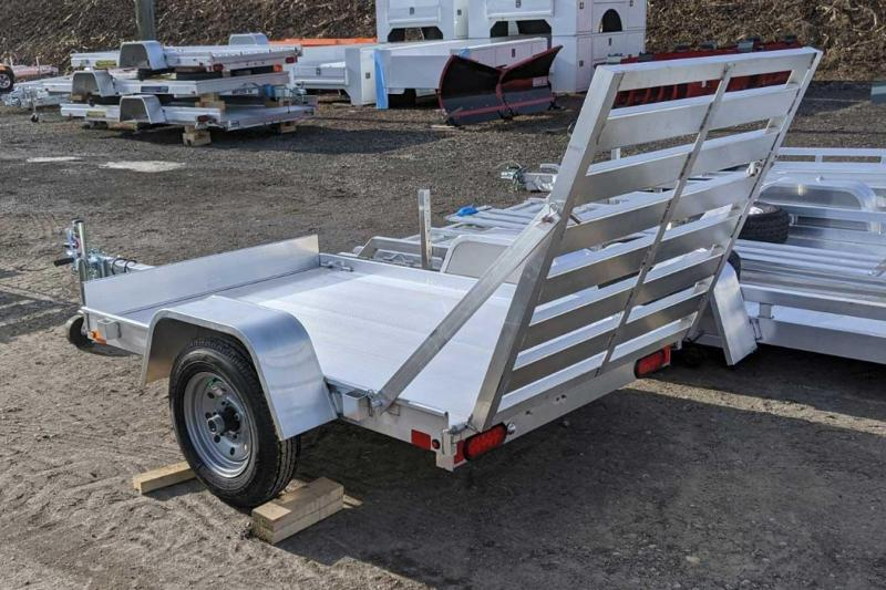 NEW 2021 Aluma 4x6 LW Utility Trailer
