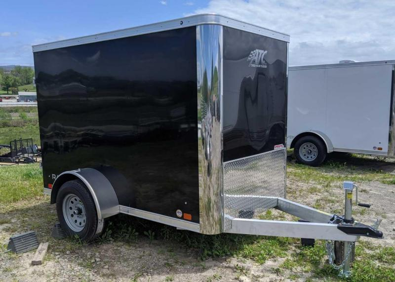 NEW 2020 ATC 5x8 Raven Cargo Trailer w/ Barn Door