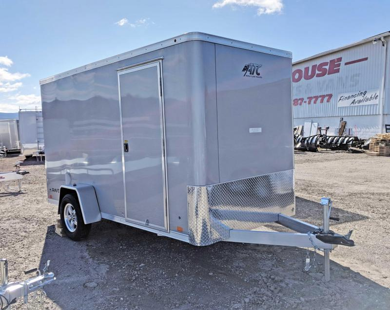 NEW 2020 ATC 6x12 Raven Cargo Trailer w/ Ramp