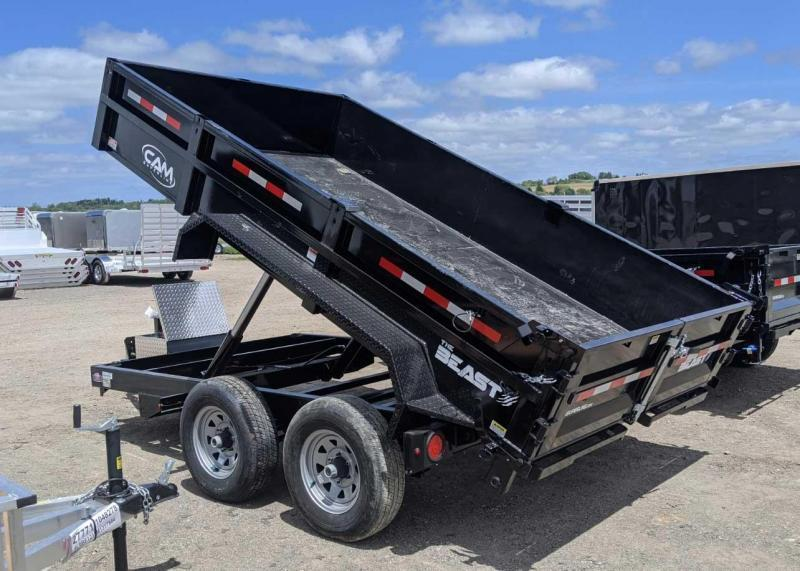 "NEW 2020 CAM Superline 6'9"" x 12' Lo Pro Equipment Dump Trailer"