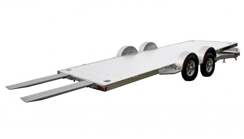 "NEW 2021 Aluma 18' Executive Series LP Tilt Trailer w/ 50"" Ramps"