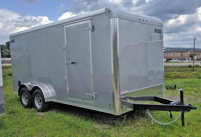 NEW 2020 Car Mate 7x16 HD Custom Cargo Trailer w/ Ramp Door