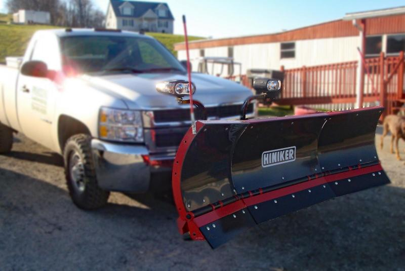 NEW 2019 Hiniker 8' Poly Torsion Trip Edge SCOOP Plow