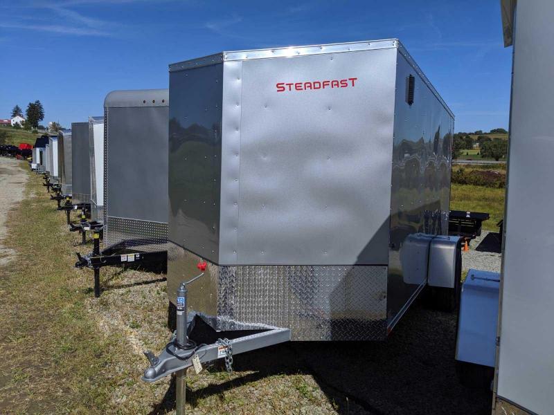NEW 2020 Steadfast 6x12 JST Sloped V-Nose Cargo Trailer w/ Ramp