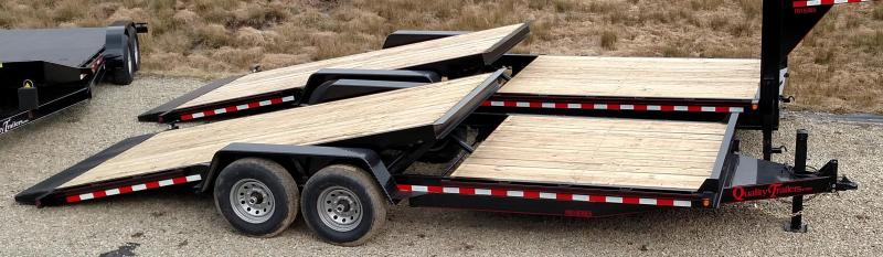 NEW 2020 Quality 20' (6+14) HD Lo Pro Split Tilt Trailer