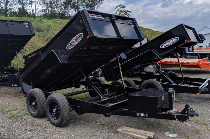 NEW 2020 Bri-Mar 6x10 Lo Pro Equipment Dump Trailer