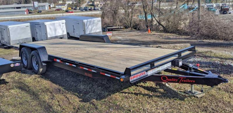 NEW 2020 Quality 22' HD Pro Car Hauler w/ No Dove & 5' Punched Ramps