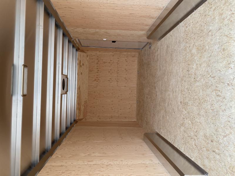NEW 2020 ATC 8.5 x 18 Raven Aluminum Enclosed Car Hauler w/ Ramp Door