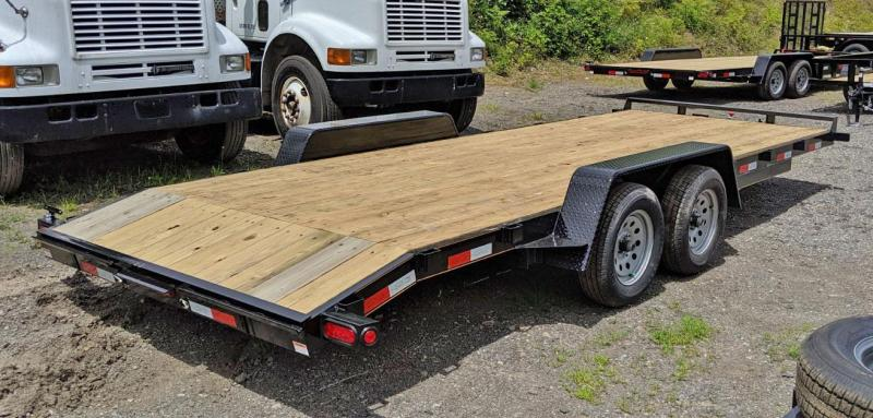 NEW 2020 Quality 18' General Duty Car Hauler w/ 2' Dove Tail