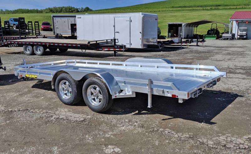 """NEW 2020 Aluma 6'6"""" x 14 Tandem Utility w/ Underbody Ramps"""