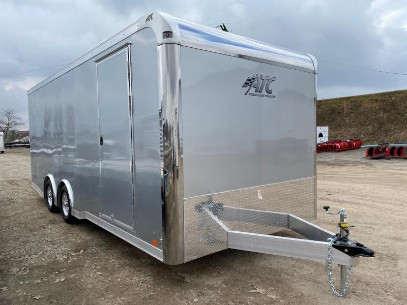 NEW 2020 ATC 8.5 x 20 Raven ALUMINUM Car Hauler w/ Rear Ramp Door