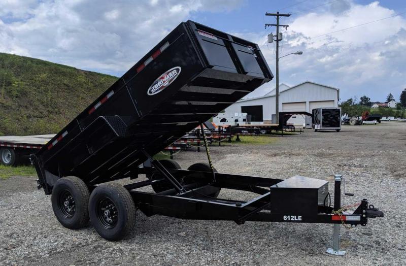 NEW 2020 Bri-Mar 6x12 Lo Pro Equipment Dump