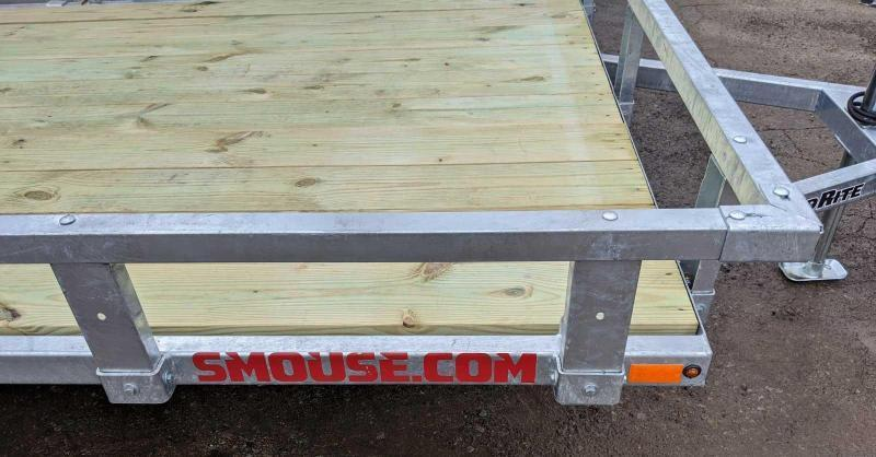 NEW 2020 Load Rite 5.5' x 11' GALVANIZED Utility Trailer (PERFECT FOR SIDE BY SIDES!!!)