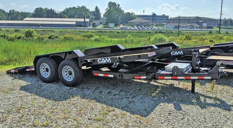 NEW 2020 CAM 18' Lo Pro Full Tilt Trailer