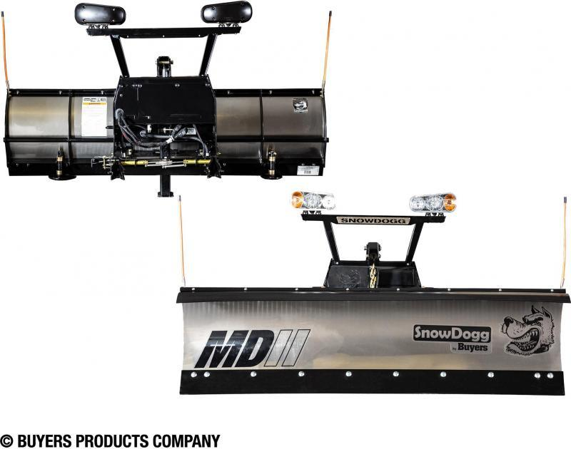 NEW SNOWDOGG 8' MD Gen 2 Stainless Steel Snow Plow   **ONE LEFT!!! CALL FOR SPECIAL PRICING!!**