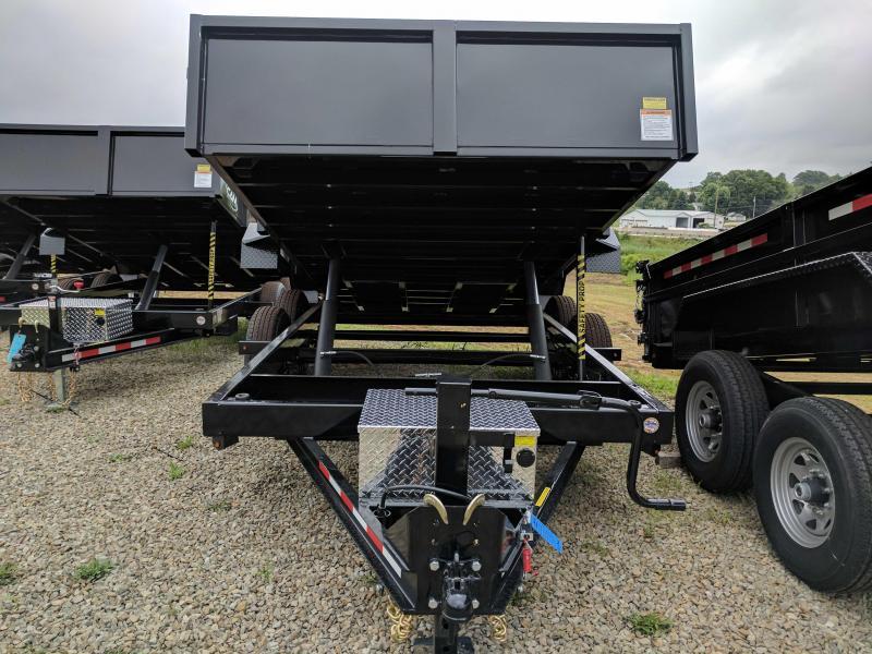 "NEW 2020 CAM 6'8"" x 14 HD "" Beast"" Lo Pro Equipment Dump Trailer"